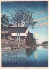 ukiyo-e-woodblock-eveningatitakojs1475b