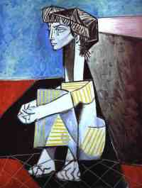 picasso-jacqueline with hands crossed
